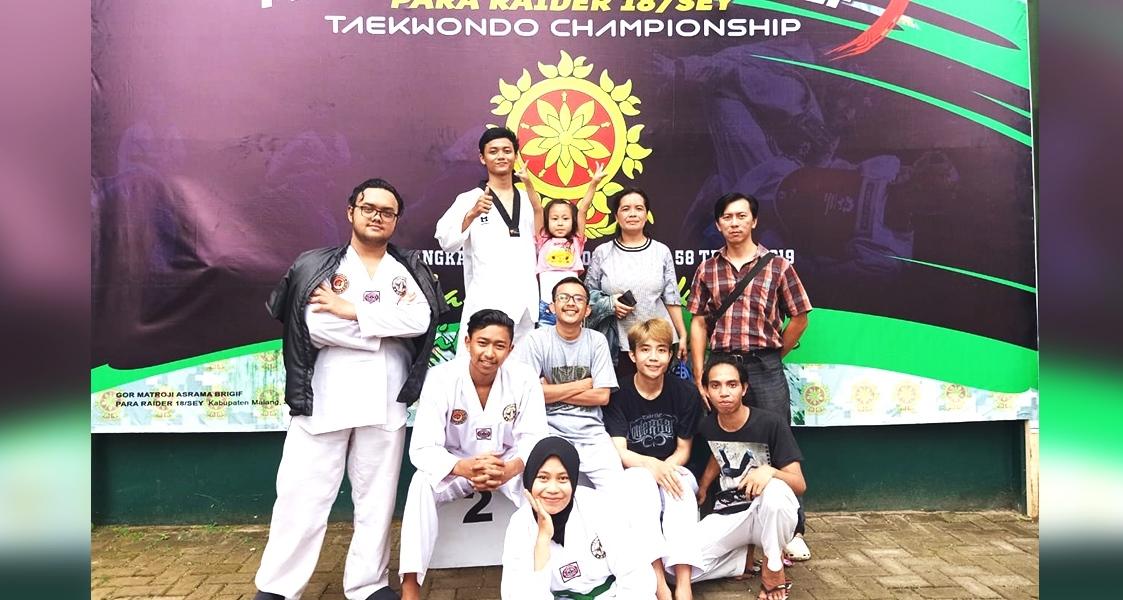 Tidak Hanya Prestasi Akademik, Melalui Taekwondo Mahasiswa STIKI Borong Banyak Medali