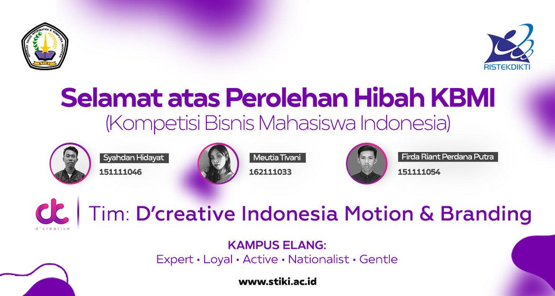 Karya Kreatif Mahasiswa untuk UMKM Indonesia peroleh Hibah Kemenristekdikti